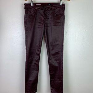 Adriano Goldschmied Black Vegan Leather Pants